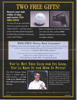 Golf Society of the U.S. – Direct Mail Package for Limited Edition Putter