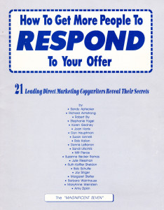 HowToGerPeopleToRespond-Book