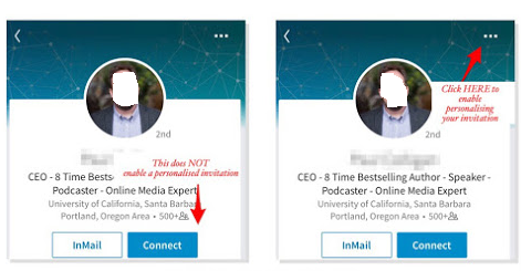 how to connect people who you dont know on linkedin