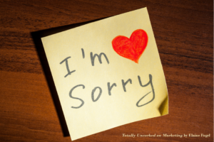 Three Reasons Why Apologizing to Your Customers Fails