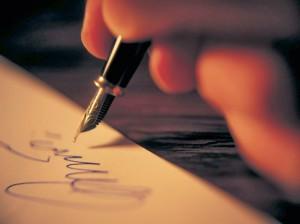 Handwritten Notes the Gratitude tool