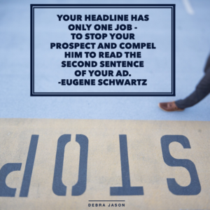 Copywriting Tip: Headline Hints from Seasoned Copywriters